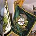 Les drapeaux brodés